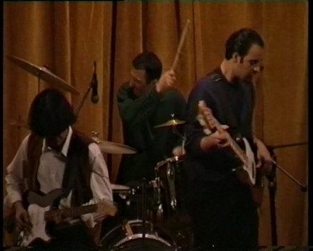 Kaveh Yaghmayee's band 1998
