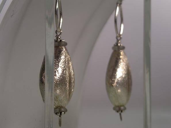 Brushed Silver Vessels