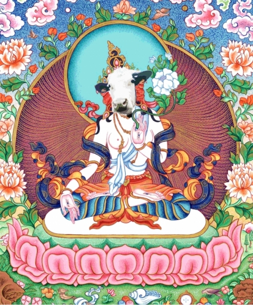 Buddha Cow