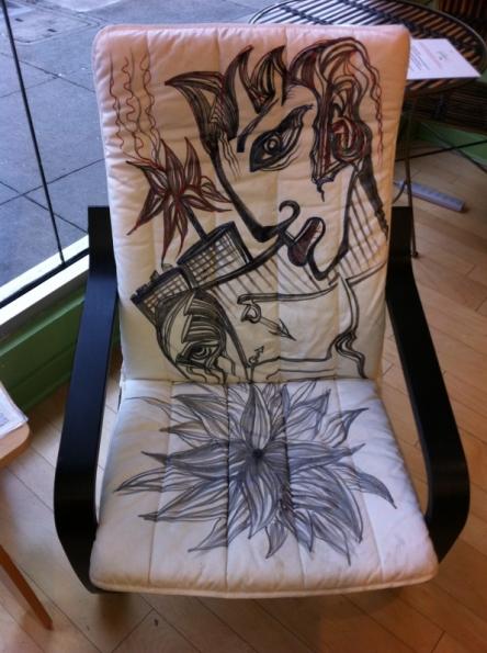 """""""Atussa Chair"""" 2010"""