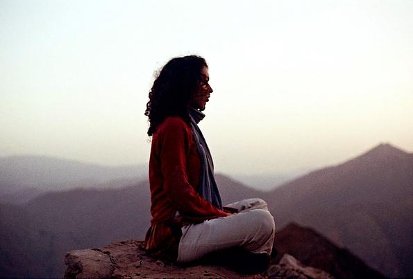 meditation in 8000 ft