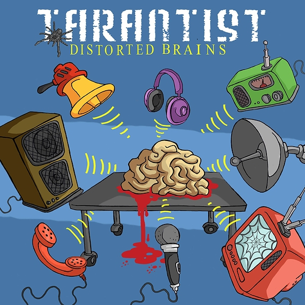 Distorted Brains front cover