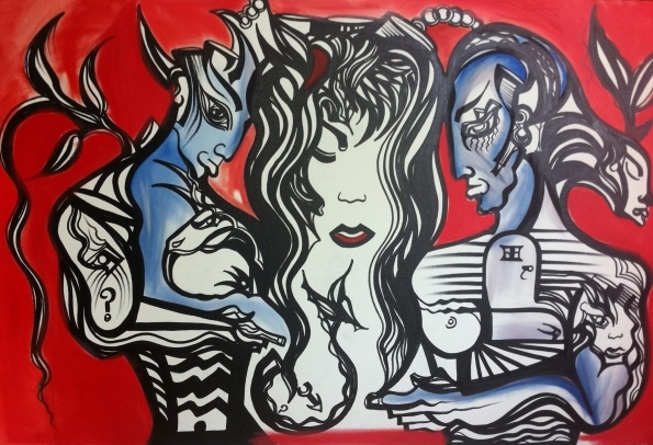 """""""The Synergy"""" - Live Art"""